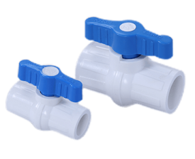 Short Handle UPVC Ball Valve